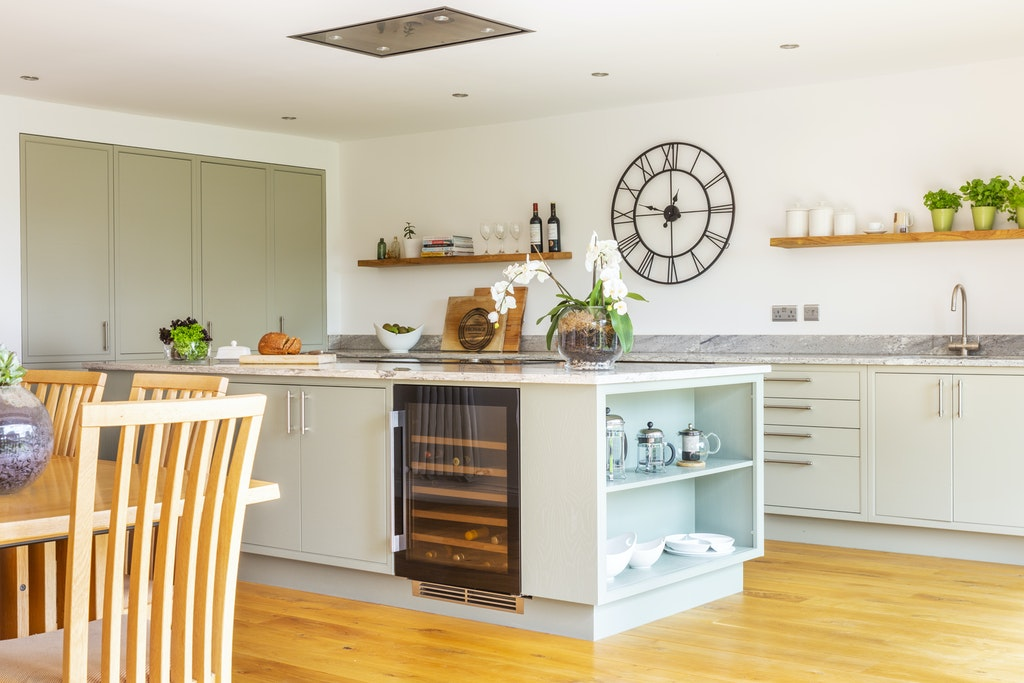 Classic Kitchen With Fitted Cupboards