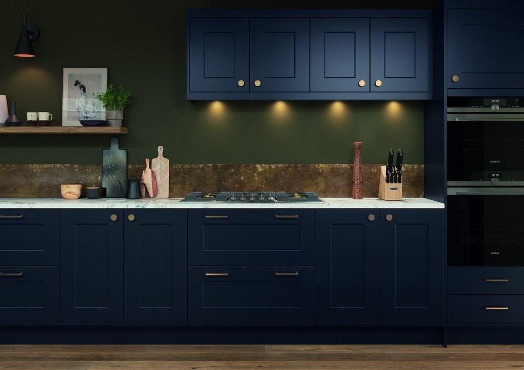 Moody Shaker Style Kitchen