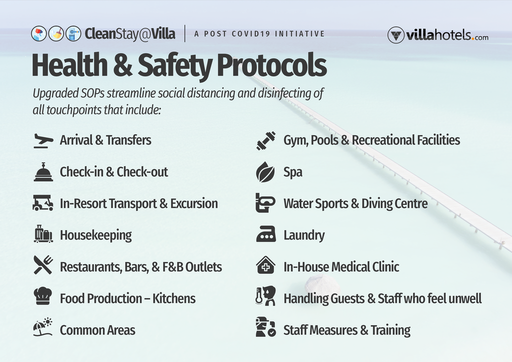 CleanStay@Villa Health and Safety Protocols